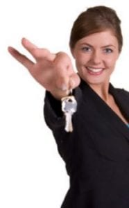 website handing house keys